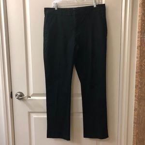 NWOT! Black Khakis by GAP Pants 10 Straight Leg